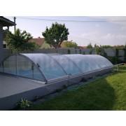 Prekrytie bazéna  Klasik 10x5m