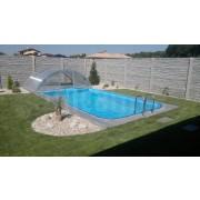 Bazénový set bazén a prekrytie Klasik 6x3m