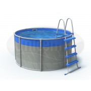Nadzemný bazén Concord II okrúhly väčší