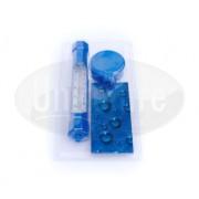 Teplomer modrý